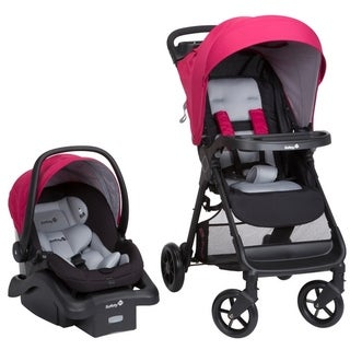 Safety 1 Smooth Ride Travel System in Sangria