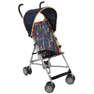 Cosco Umbrella Stroller with Canopy in Anchors Away