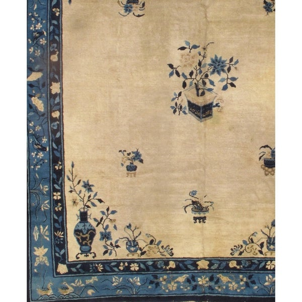 Shop Pasargad DC Antique Chinese Peking Area Rug