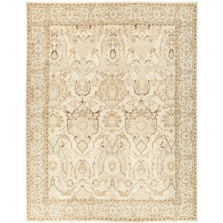 """Oushak, Hand Knotted Area Rug - 9' 1"""" x 11' 9"""" - 9'1"""" x 11'9"""""""