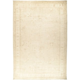 """Oushak, Hand Knotted Area Rug - 12' 0"""" x 17' 9"""" - 12' x 17'9"""""""
