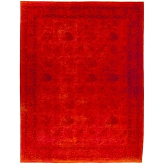 """Vibrance, Hand Knotted Area Rug - 9' 0"""" x 12' 0"""" - 9' x 12'"""