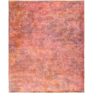 """Vibrance, Hand Knotted Area Rug - 7' 10"""" x 9' 8"""" - 7'10"""" x 9'8"""""""