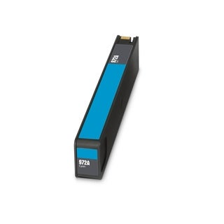 1PK Compatible HP 972A Cyan, L0R86AN Ink Cartridge For HP Pagewide Pro 352 377 452 477 552 577's ( Pack of 1 )