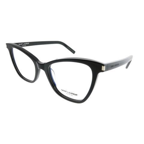 Saint Laurent Cat-Eye SL 219 New Wave 001 Women Black Frame Eyeglasses