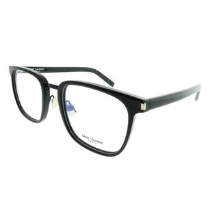 Saint Laurent Square SL 222 Classic 005 Unisex Black Frame Eyeglasses