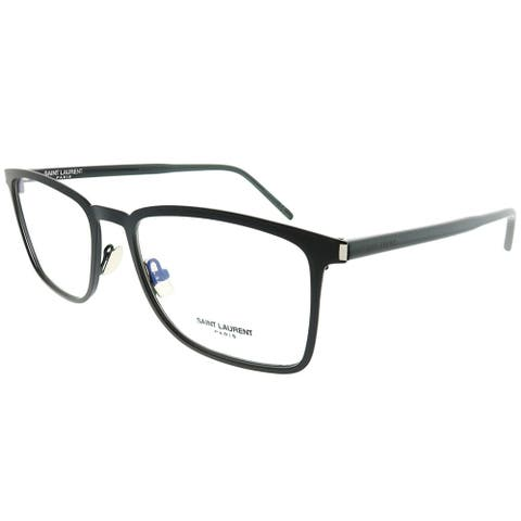 Saint Laurent Rectangle SL 226 Classic 005 Unisex Black Frame Eyeglasses