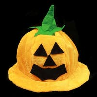Halloween Costume Party Supplies Amusing Pumpkin Hat Props Cute Decoration - dome