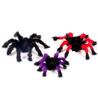 Halloween Props Plush Spider Haunted House Bars Decorative Supply Tricky Toy