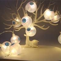 10 LEDs Fancy Eye Balls String Lattern Lights LED Eyeball Colorful Strand Lamp