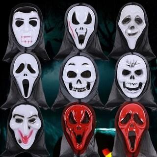 Halloween Fancy Dress Adult Costume Accessory Adult Halloween Horror Face Mask