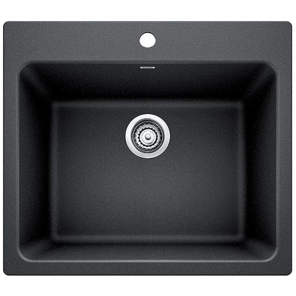 Blanco Silgranit Granite Composite Sink Liven Laundry 401920 Anthracite N A