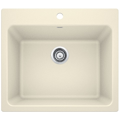 Blanco SILGRANIT Granite Composite Sink LIVEN Laundry Sink 401925 Biscuit