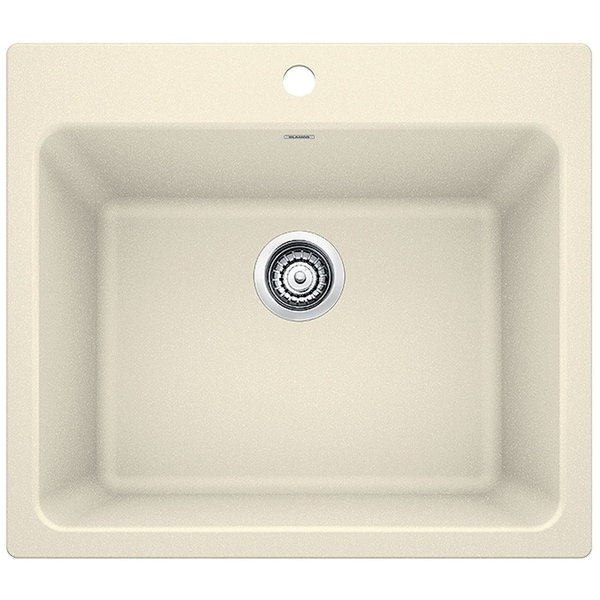 Blanco Silgranit Granite Composite Sink Liven Laundry 401925 Biscuit