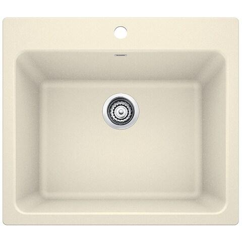 Blanco SILGRANIT Granite Composite Sink LIVEN Laundry Sink 401925 Biscuit - N/A