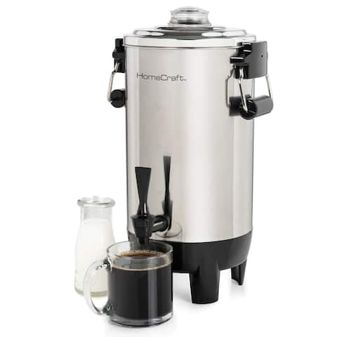 HomeCraft CU30SS 30-Cup Stainless Steel Coffee Urn