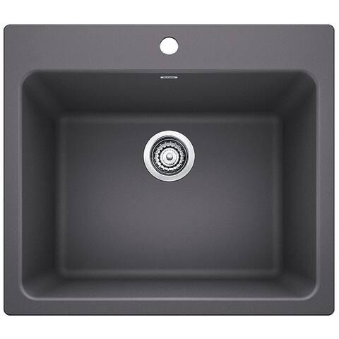 Blanco SILGRANIT Granite Composite Sink LIVEN Laundry Sink 401923 Cinder