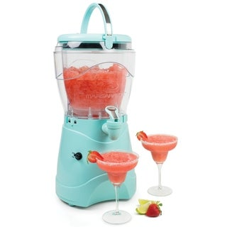 Nostalgia MSB1AQ 1 Gallon Margarita & Slush Machine, Aqua