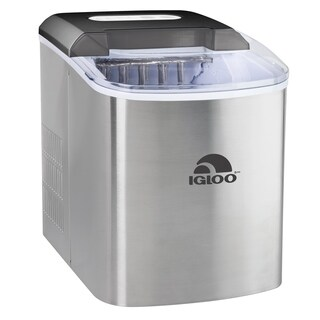 Igloo ICEB26SS 26-Pound Automatic Ice Cube Maker - Stainless Steel