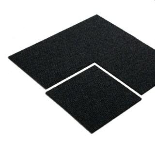 """Mats Inc. Enterprise Carpet Tile, Anthracite, 19.7"""" x 19.7"""", 16 Tiles"""