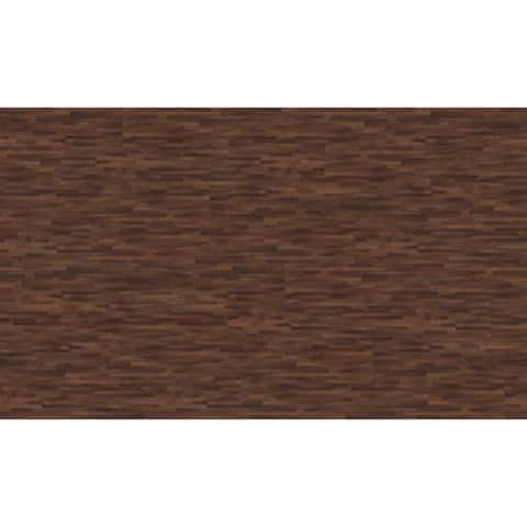 "Mats Inc. XCore Connect Wood Plank Floor Tile, 8.9"" x 59.1"", 6 Tiles"