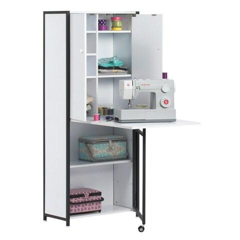 Studio Designs Craft / Multi Room Armoire - Black / White