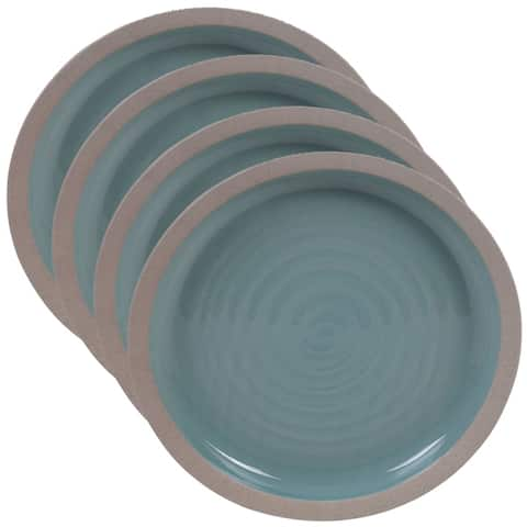 Certified International Artisan 10.75-inch Dinner Plates, Set of 4