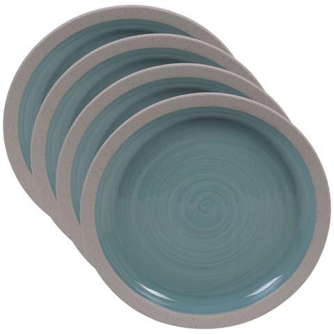 Certified International Artisan 9-inch Salad/Dessert Plates, Set of 4