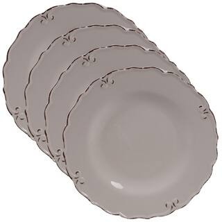 Certified International Vintage 11-inch Dinner Plates, Set of 4