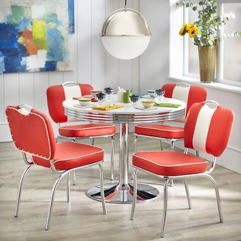 Simple Living Raleigh Retro 5-piece Dining Set