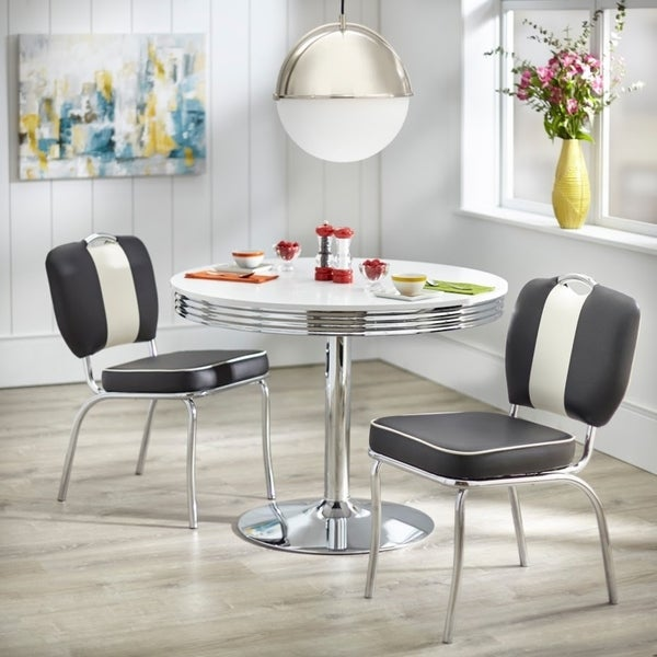 Charmant Simple Living Raleigh Retro 5 Piece Dining Set