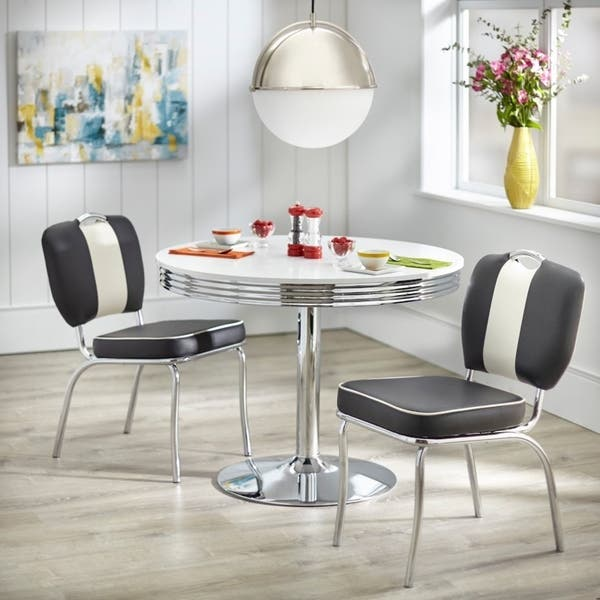 Shop Simple Living Raleigh Retro Dining Set - On Sale - Free ...