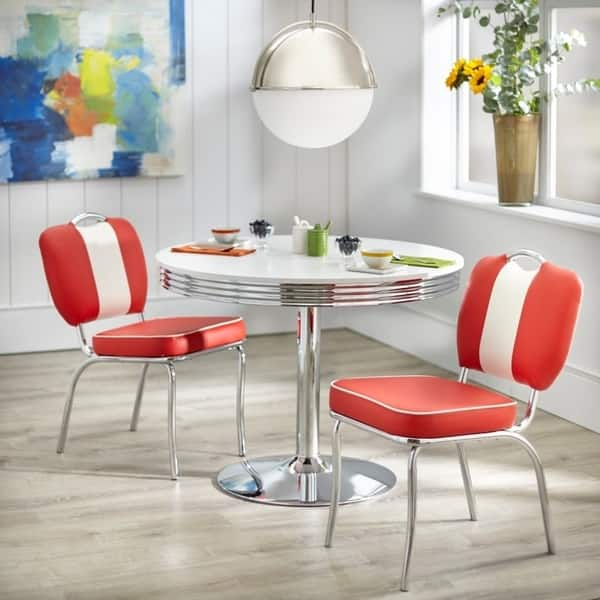 Shop Simple Living Raleigh Retro Dining Set - Free Shipping ...