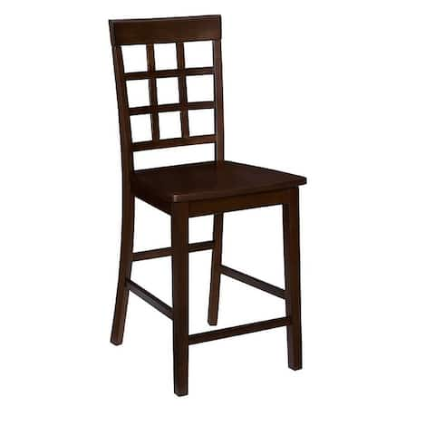 Window Pane Counter Chair (2/Ctn)
