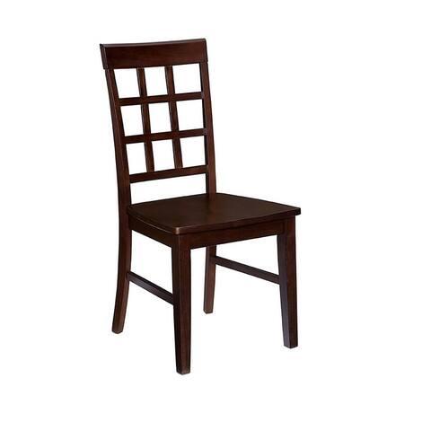 Window Pane Dining Chair (2/Ctn)
