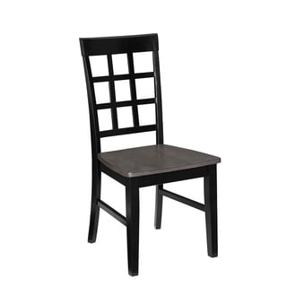 Window Pane Dining Chair (2/Ctn)