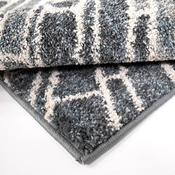 Blue Carol Wright Gifts Starburst Rugs 20 x 60 Size