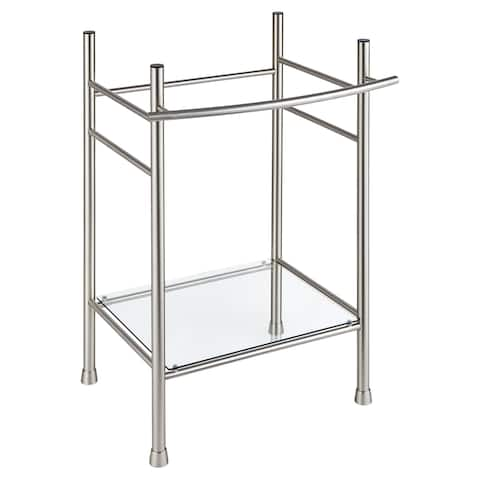 American Standard Edgemere Console Table Legs 8719.000.295 Brushed Nickel