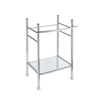 American Standard Edgemere Console Table Legs 8719.000.002 Polished Chrome