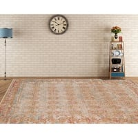 """Ethereal Vintage Cream Accent Rug - 2'2"""" x 3'"""