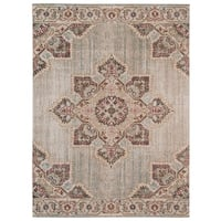 "Ethereal Vintage Beige/ Orange Area Rug - 9'10"" x 13'10"""