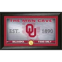 University of Oklahoma Man Cave Bronze Coin Panoramic Photo Mint