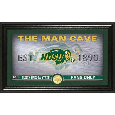 North Dakota State University Man Cave Bronze Coin Panoramic Photo Mint