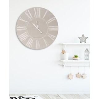 Vintage Farmhouse Wooden Wall Clock