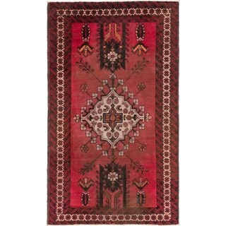 Hand Knotted Ferdos Antique Wool Area Rug - 4' x 6' 8