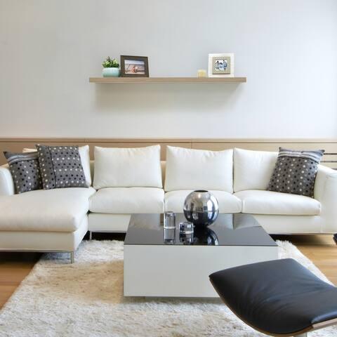 InPlace 60-inch Driftwood Floating Shelf
