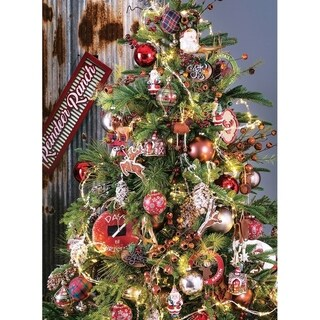 """Danish Royal Fir Tree - 58""""l x 58""""w x 7' 6""""h"""