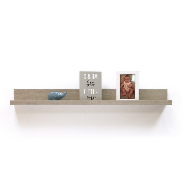 InPlace 36-inch Grey Driftwood Picture Ledge