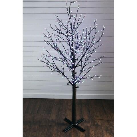 """Lighted Decorative Tree - 72""""l x 72""""w x 9' 6""""h"""
