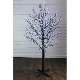 "Lighted Decorative Tree - 72""l x 72""w x 9' 6""h"